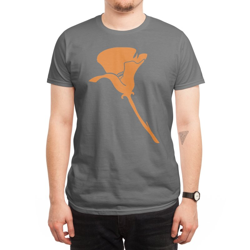 California Poppy Men's T-Shirt by We Are California Grown's Artist Shop