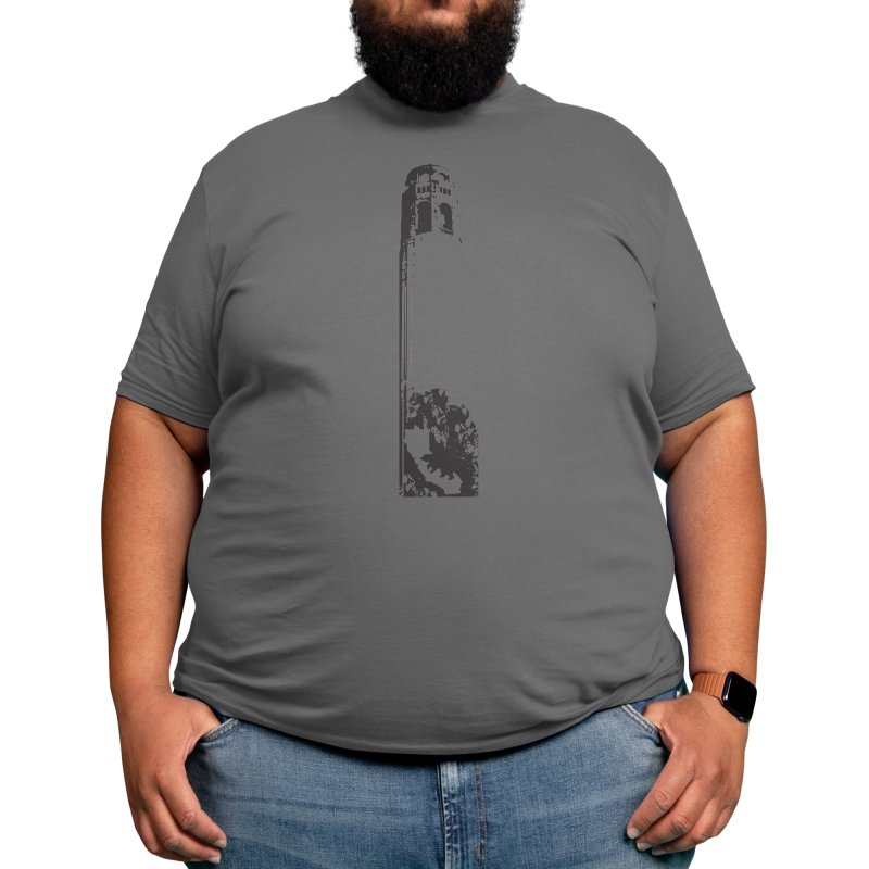 Coit Tower Men's T-Shirt by We Are California Grown's Artist Shop