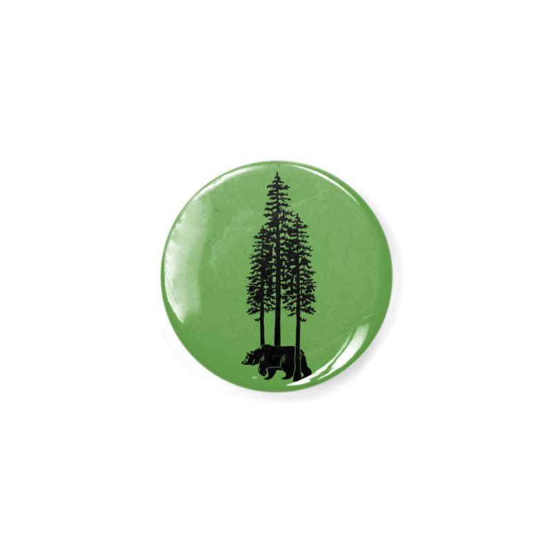 Walking Bear Accessories Button by We Are California Grown's  Artist Shop