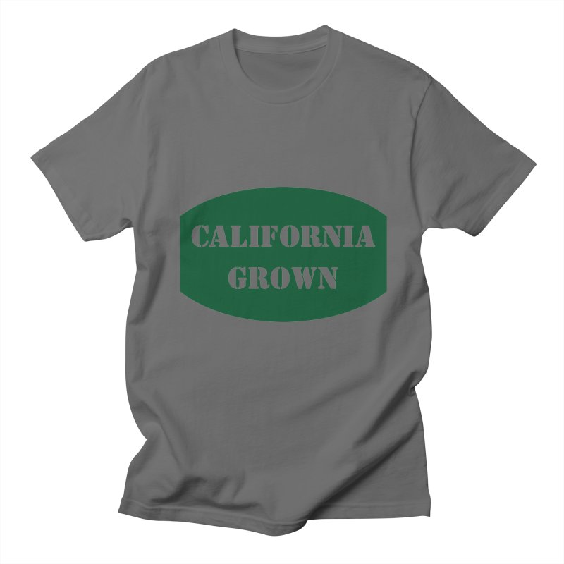 California Grown Produce Label Men's T-Shirt by We Are California Grown's  Artist Shop