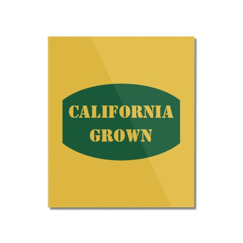 image for California Grown Produce Label