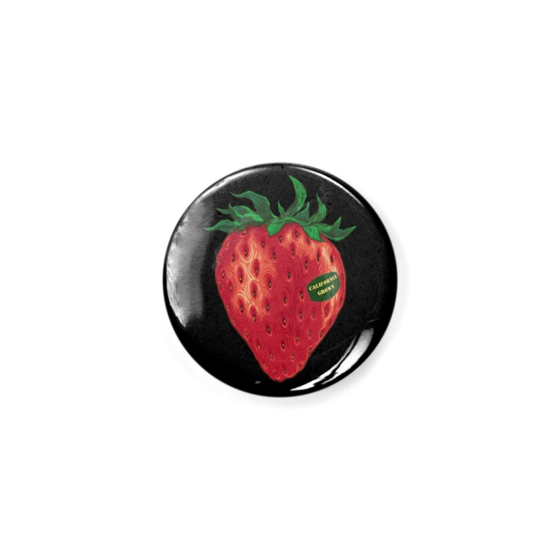 CA Grown Strawberry Accessories Button by We Are California Grown's  Artist Shop