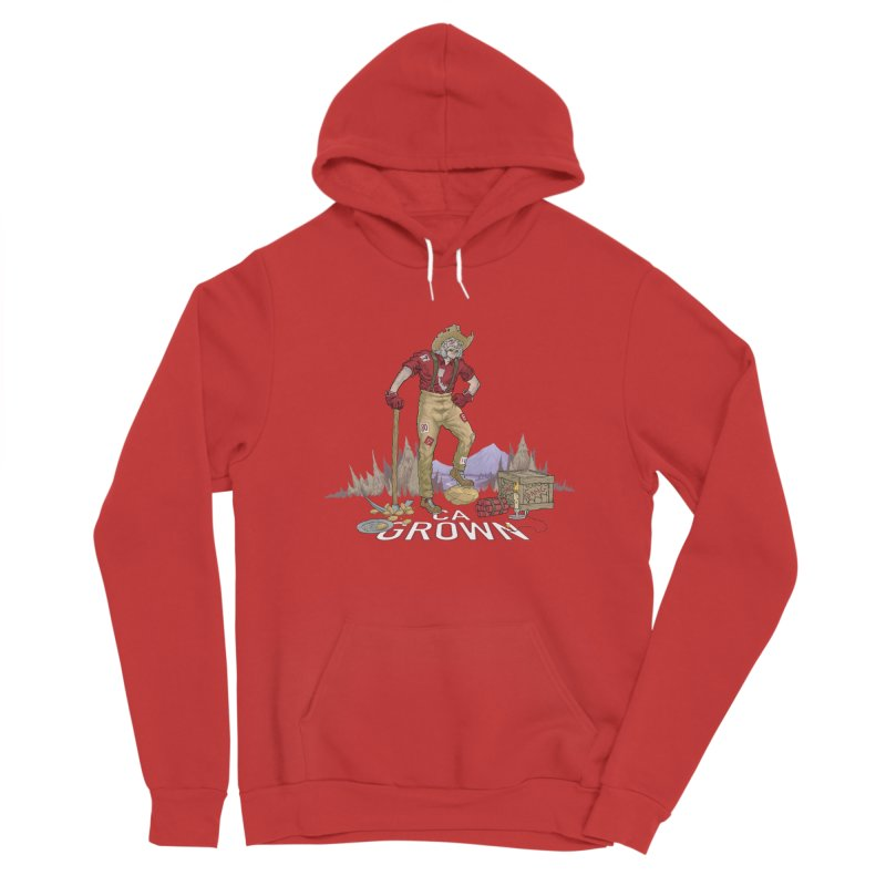 California Grown 49er Women's Pullover Hoody by We Are California Grown's  Artist Shop