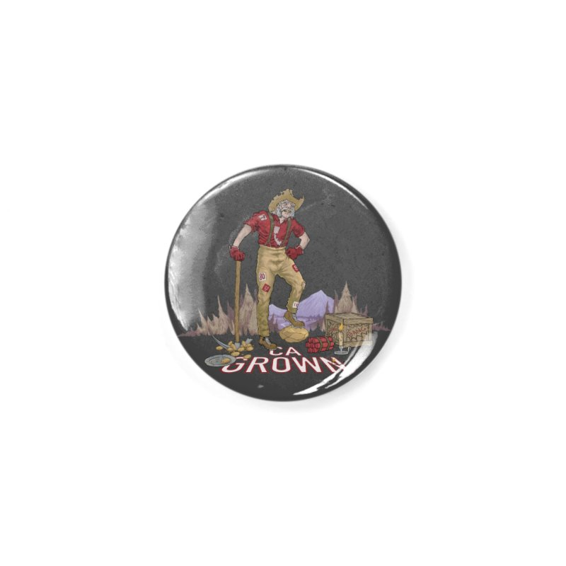 California Grown 49er Accessories Button by We Are California Grown's  Artist Shop