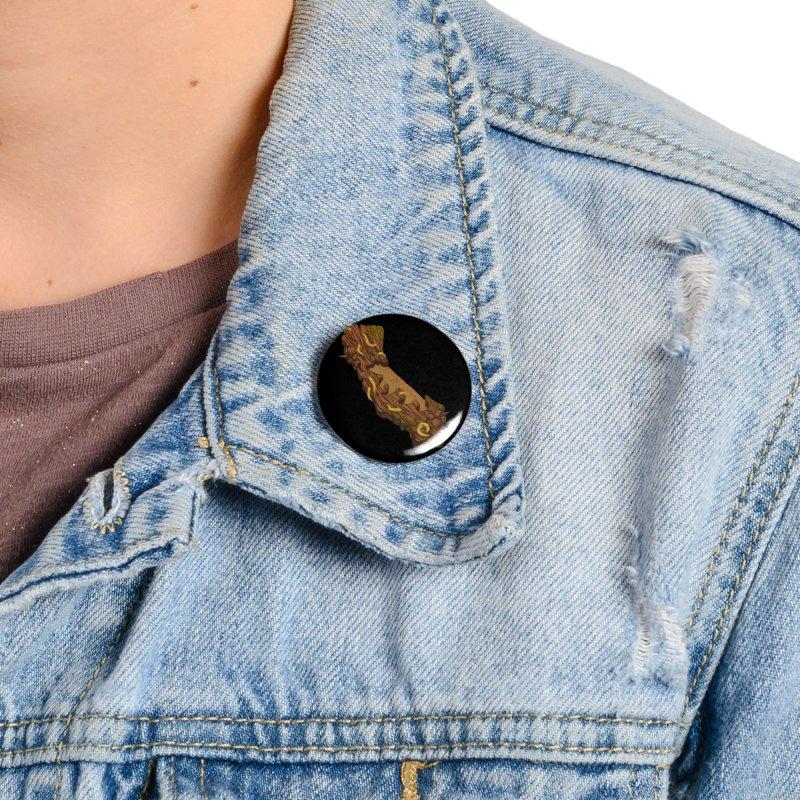 Redwood Slug Accessories Button by We Are California Grown's  Artist Shop