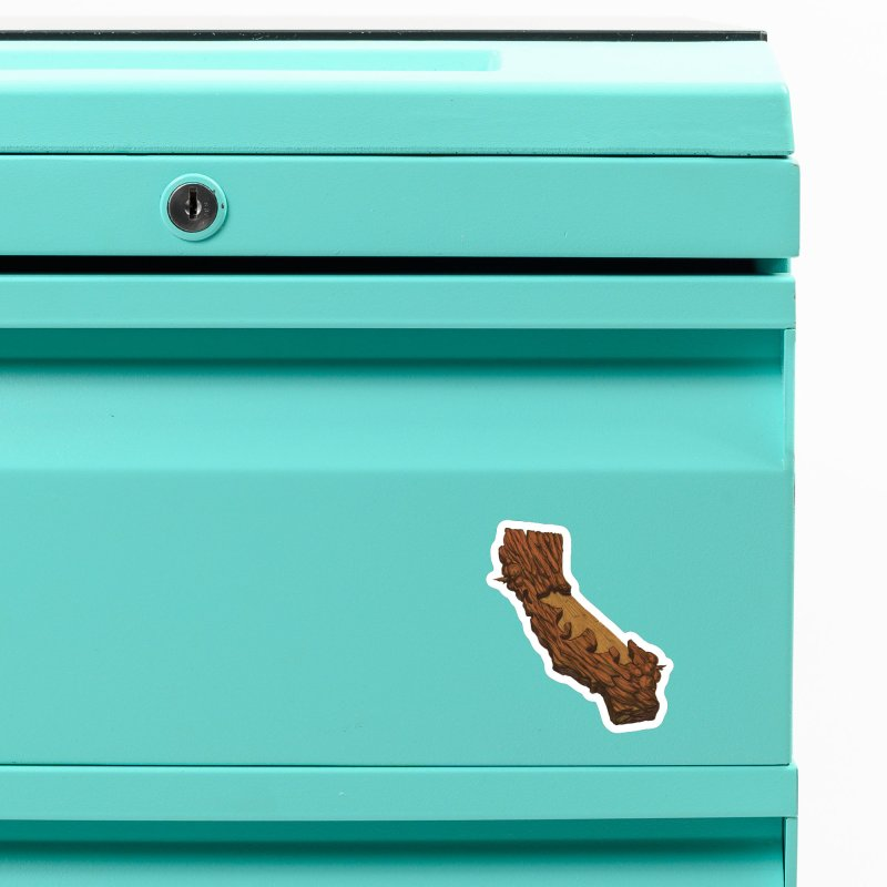 Redwood Silhouette Accessories Magnet by We Are California Grown's  Artist Shop