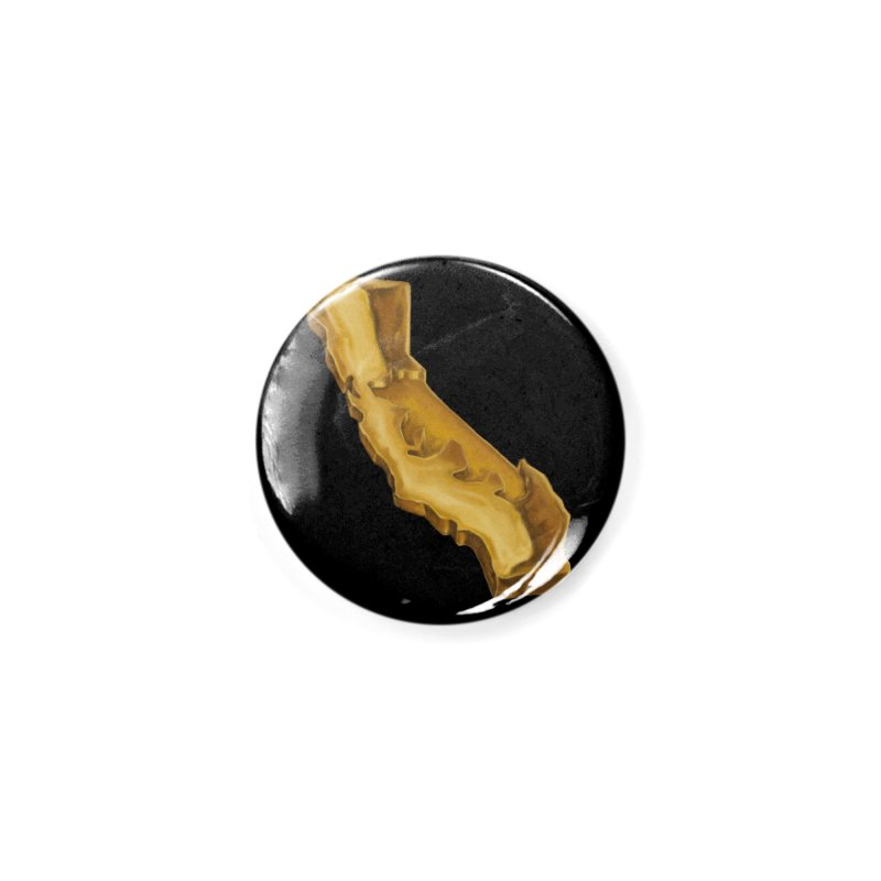 The Golden State Accessories Button by We Are California Grown's  Artist Shop
