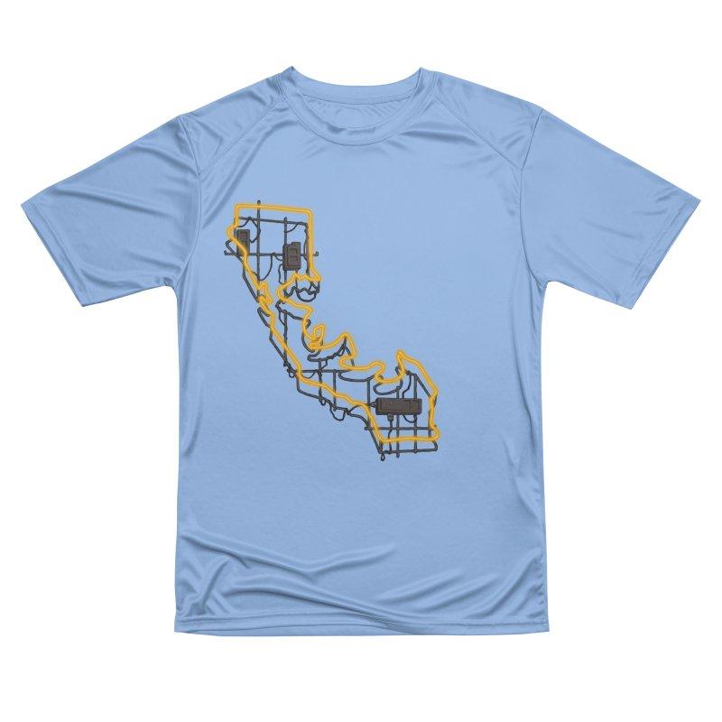 Orange Neon Sign Men's T-Shirt by We Are California Grown's  Artist Shop