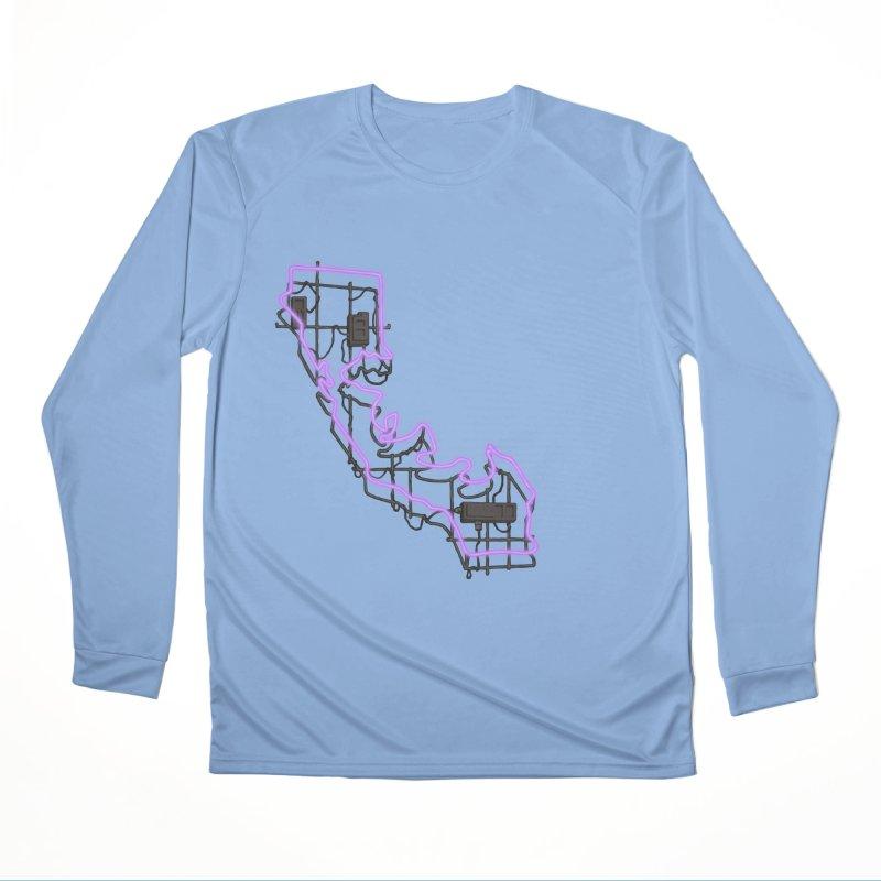 Purple Neon Sign Women's Longsleeve T-Shirt by We Are California Grown's  Artist Shop