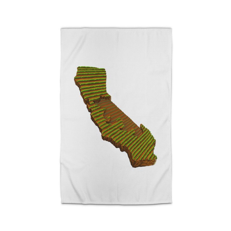 CA Grown Rows Home Rug by We Are California Grown's  Artist Shop