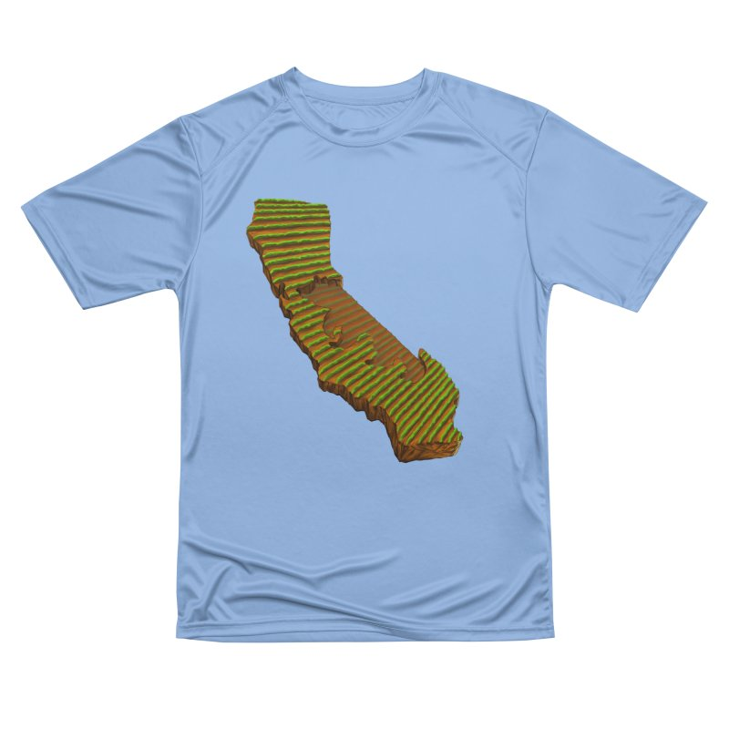 CA Grown Rows Men's T-Shirt by We Are California Grown's  Artist Shop