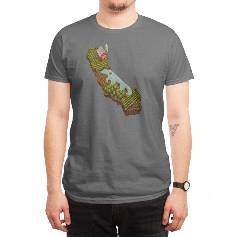 California Grown Farm Men's T-Shirt by We Are California Grown's Artist Shop
