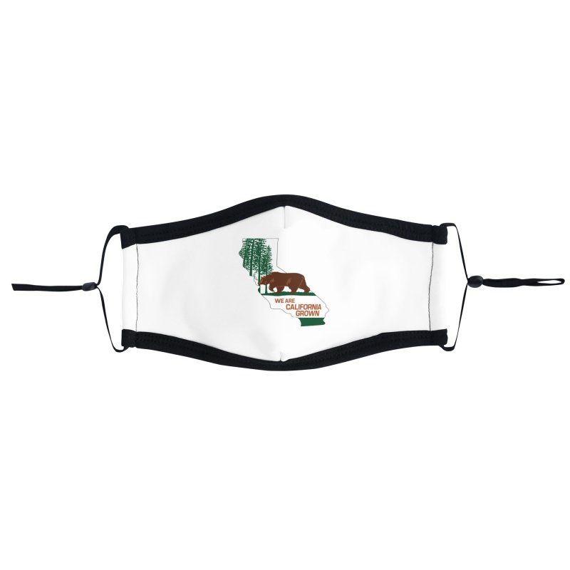 Bear State Accessories Face Mask by We Are California Grown's  Artist Shop