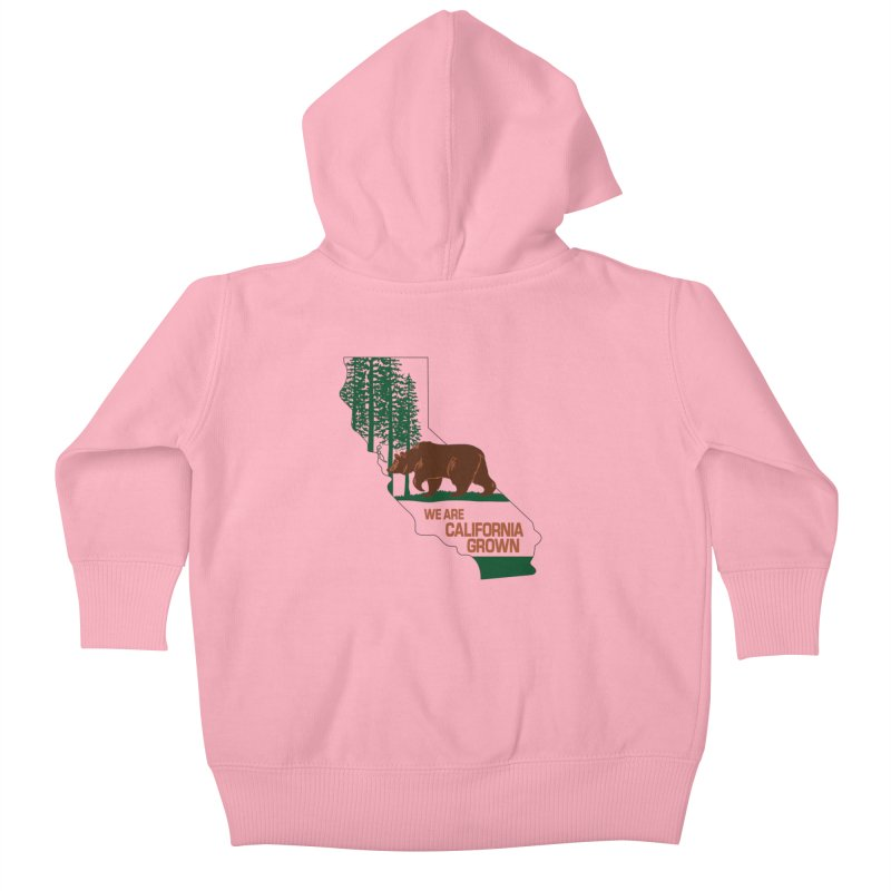 Bear State Kids Baby Zip-Up Hoody by We Are California Grown's  Artist Shop