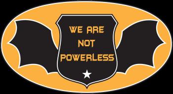 We Are Not Powerless - Artist Shop Logo