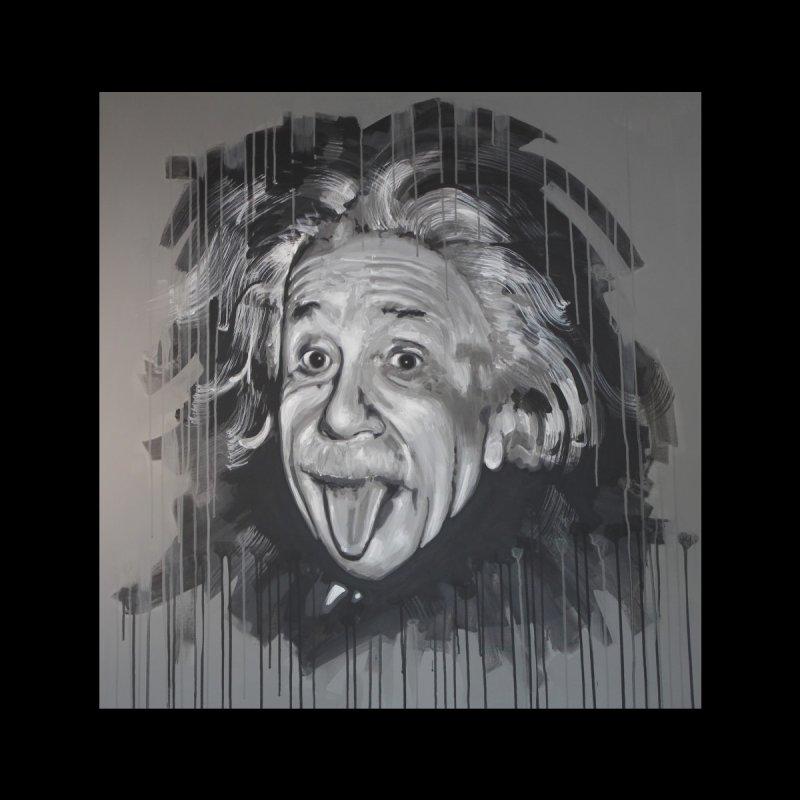 Albert Einstein by Eric B Men's T-Shirt by We Wear Art Light