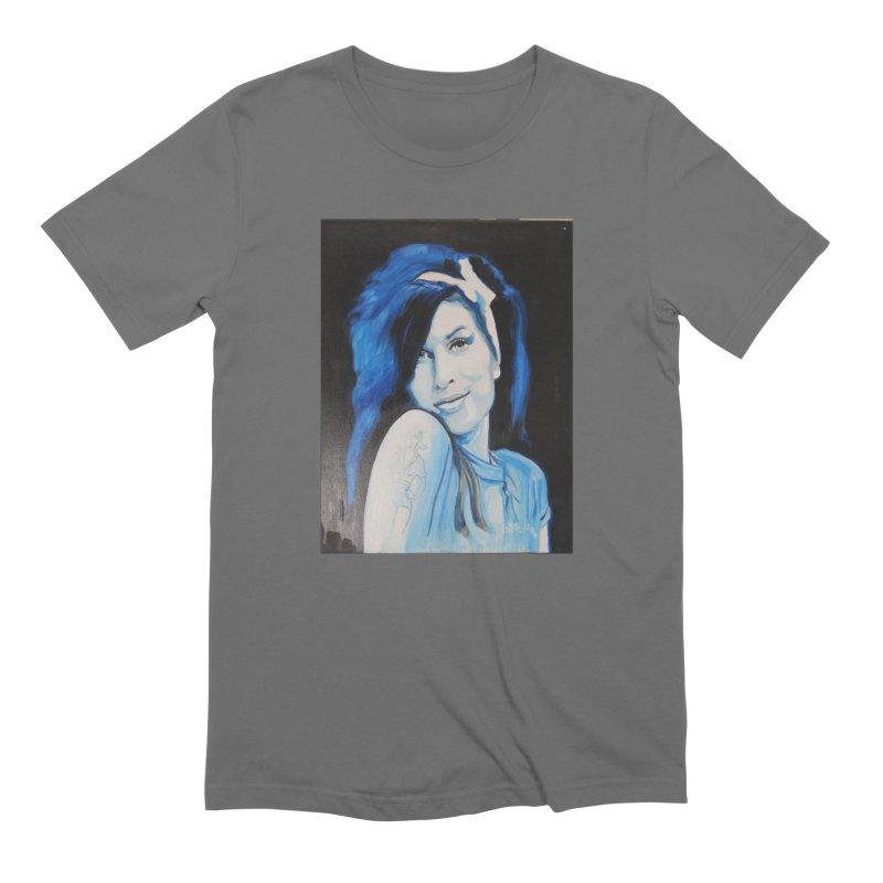 Amy by Eric B Men's T-Shirt by We Wear Art Light