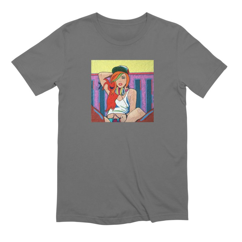 Be Cool by Vlado V Men's T-Shirt by We Wear Art Light