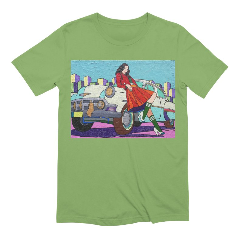 Chevy Girl by Vlado V Men's T-Shirt by We Wear Art Light