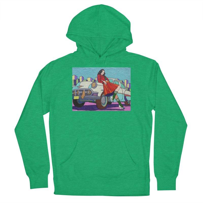 Chevy Girl by Vlado V Women's Pullover Hoody by We Wear Art Light