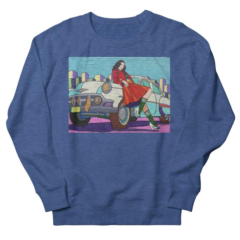 Chevy Girl by Vlado V Men's Sweatshirt by We Wear Art Light