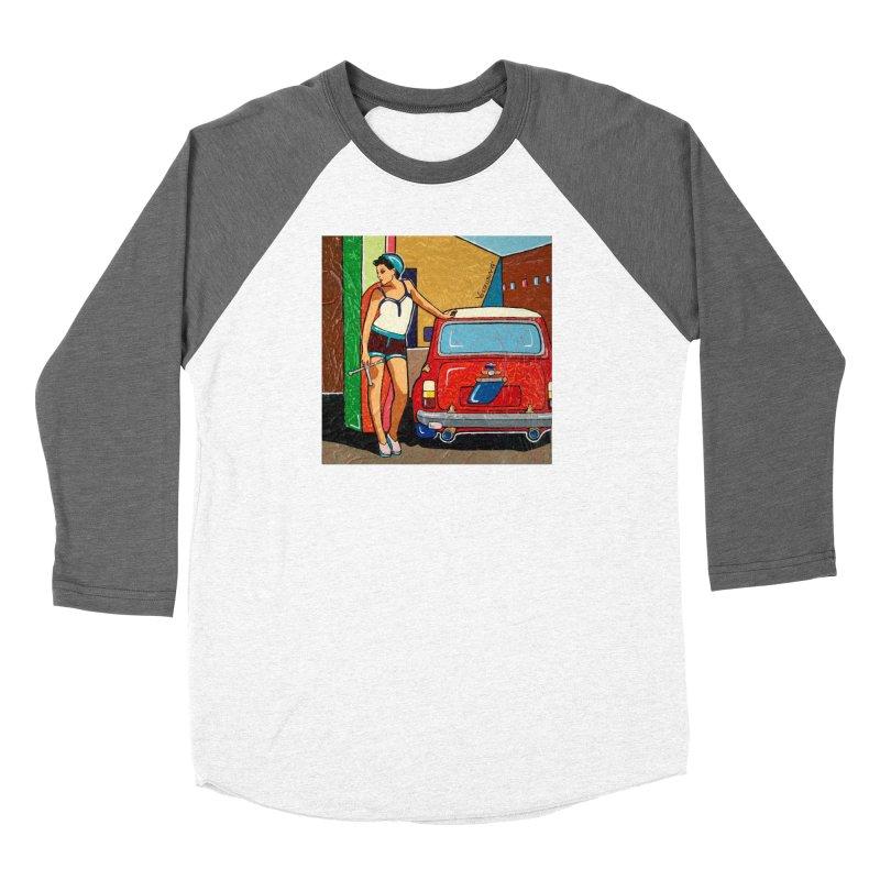 The Mini Cooper girl Women's Longsleeve T-Shirt by We Wear Art Light