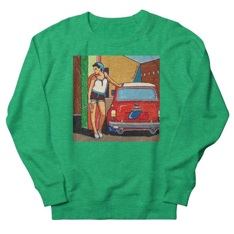 The Mini Cooper girl Women's Sweatshirt by We Wear Art Light