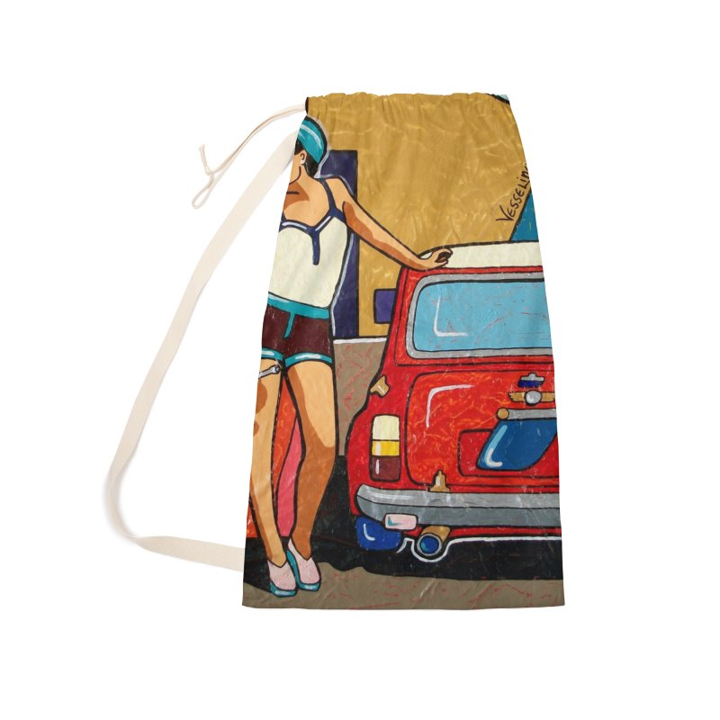The Mini Cooper girl Accessories Bag by We Wear Art Light