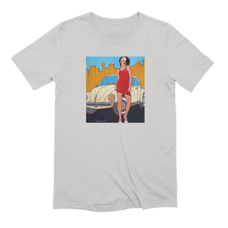 VW girl by Vlado V Men's T-Shirt by We Wear Art Light
