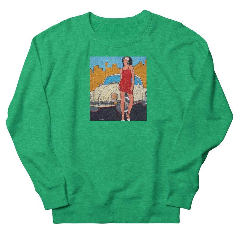 VW girl by Vlado V Women's Sweatshirt by We Wear Art Light