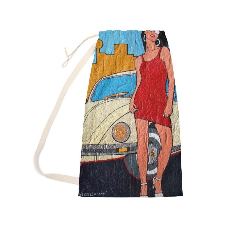 VW girl by Vlado V Accessories Bag by We Wear Art Light