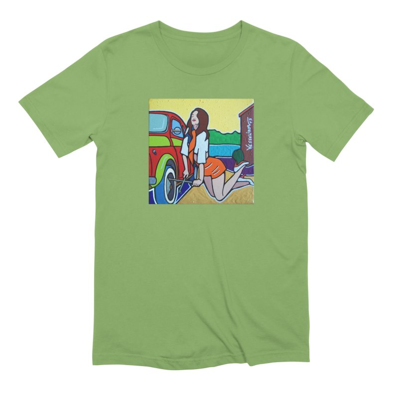 Women Power Men's T-Shirt by We Wear Art Light