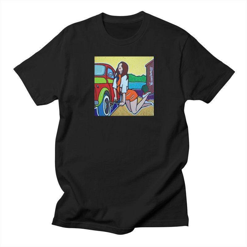 Women Power Men's Regular T-Shirt by We Wear Art Light