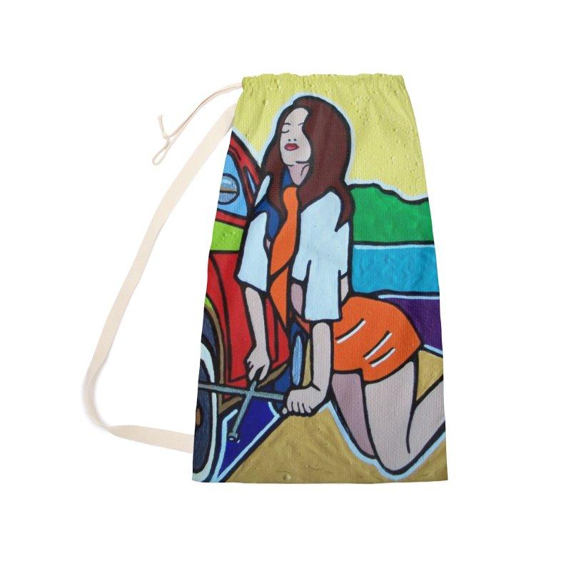 Women Power Accessories Bag by We Wear Art Light