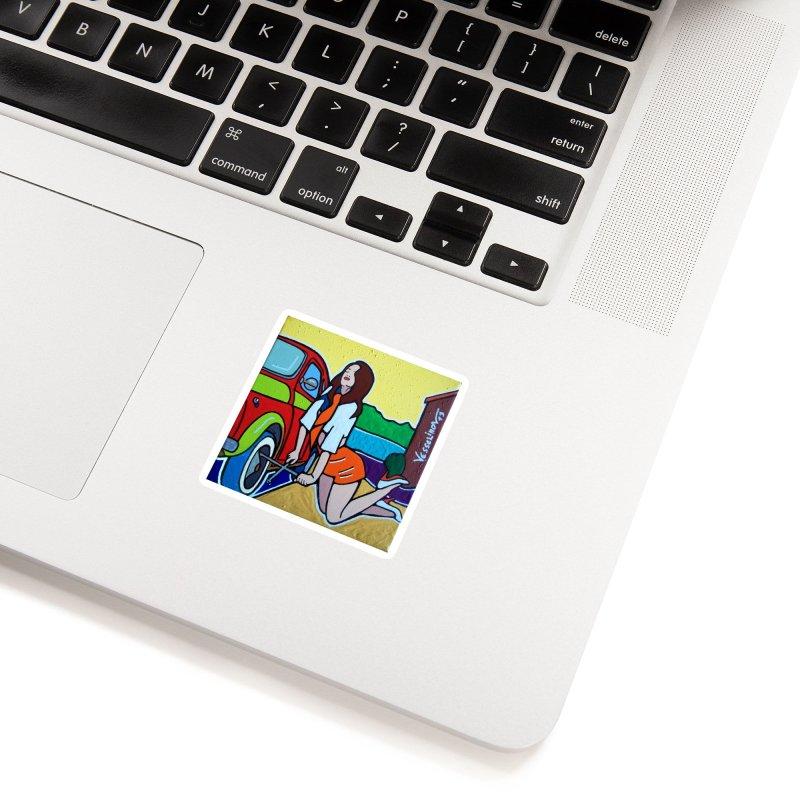 Women Power Accessories Sticker by We Wear Art Light