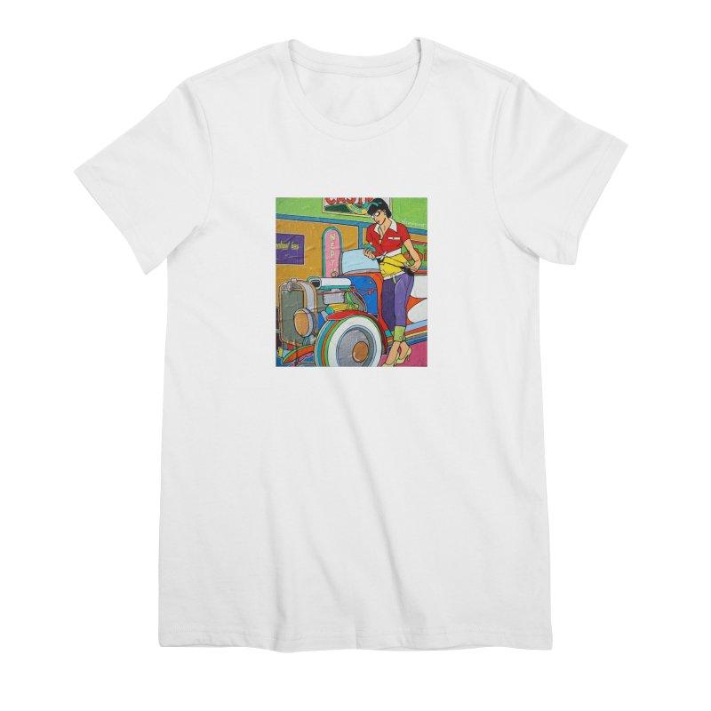 We Can Do It by Valdo V Women's T-Shirt by We Wear Art Light