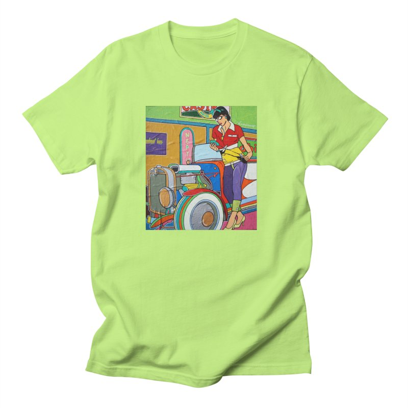 We Can Do It by Valdo V Men's T-Shirt by We Wear Art Light