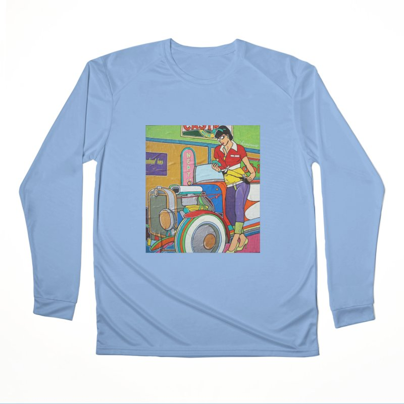 We Can Do It by Valdo V Women's Longsleeve T-Shirt by We Wear Art Light