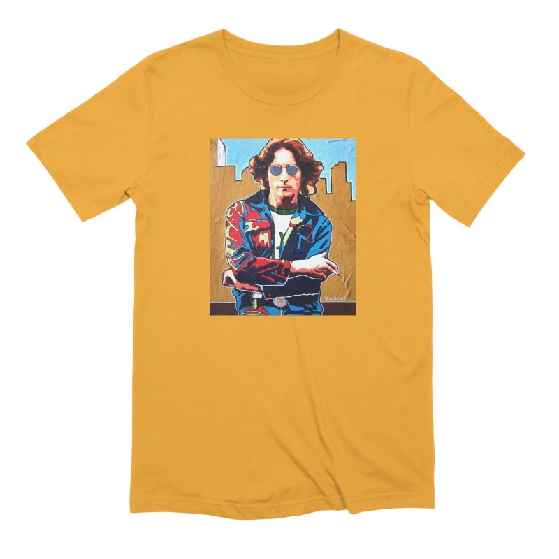 John Lennon by Vlado V Men's T-Shirt by We Wear Art Light