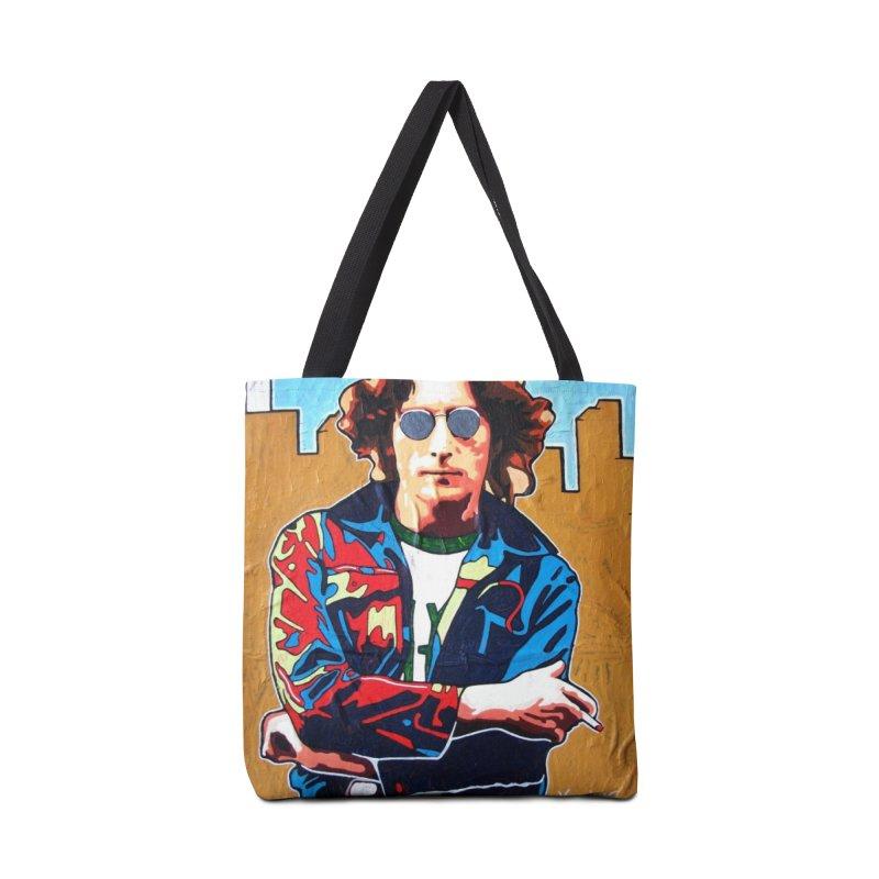 John Lennon by Vlado V Accessories Bag by We Wear Art Light