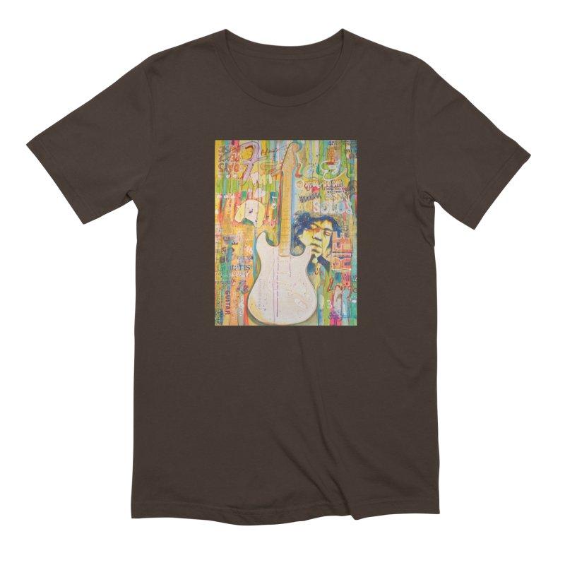 Jimmy Hendrix by Eric B Men's T-Shirt by We Wear Art Light