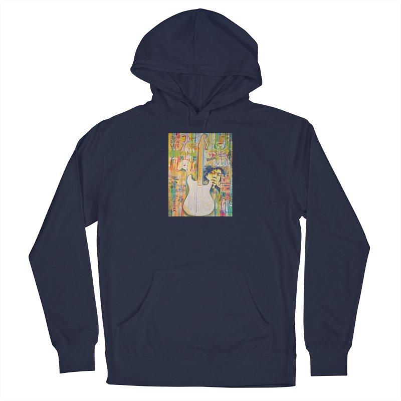Jimmy Hendrix by Eric B Men's Pullover Hoody by We Wear Art Light