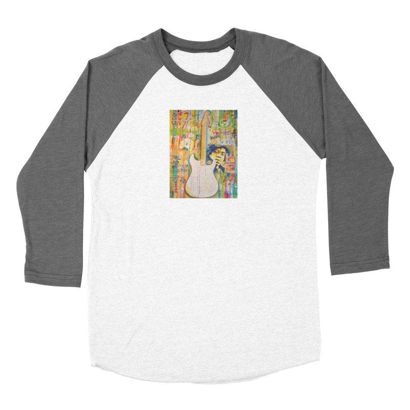 Jimmy Hendrix by Eric B Women's Longsleeve T-Shirt by We Wear Art Light