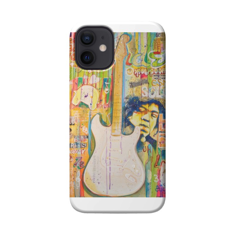 Jimmy Hendrix by Eric B Accessories Phone Case by We Wear Art Light