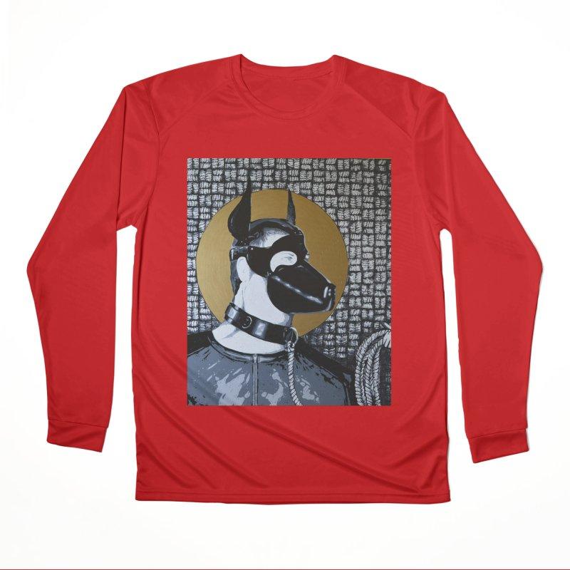 The Mask by Szymon K Women's Longsleeve T-Shirt by We Wear Art Light
