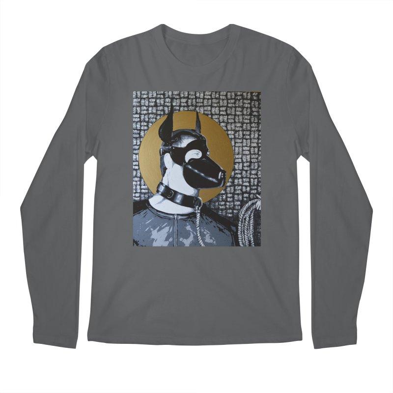 The Mask by Szymon K Men's Longsleeve T-Shirt by We Wear Art Light