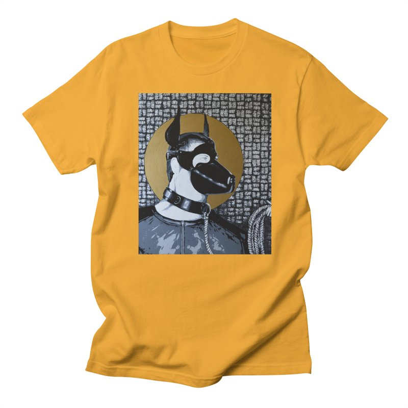 The Mask by Szymon K Men's Regular T-Shirt by We Wear Art Light