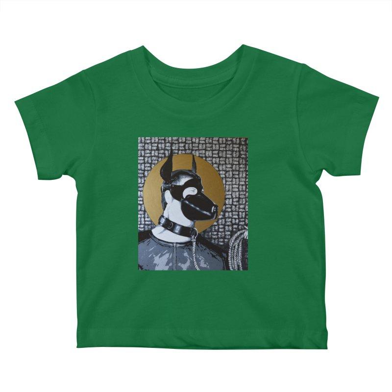 The Mask by Szymon K Kids Baby T-Shirt by We Wear Art Light