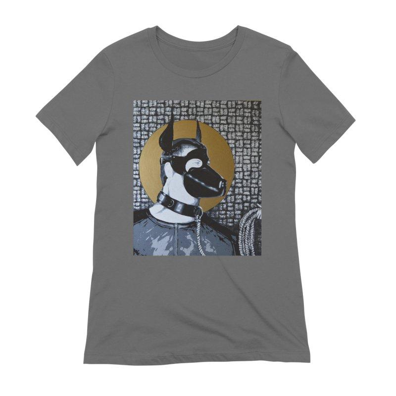 The Mask by Szymon K Women's T-Shirt by We Wear Art Light