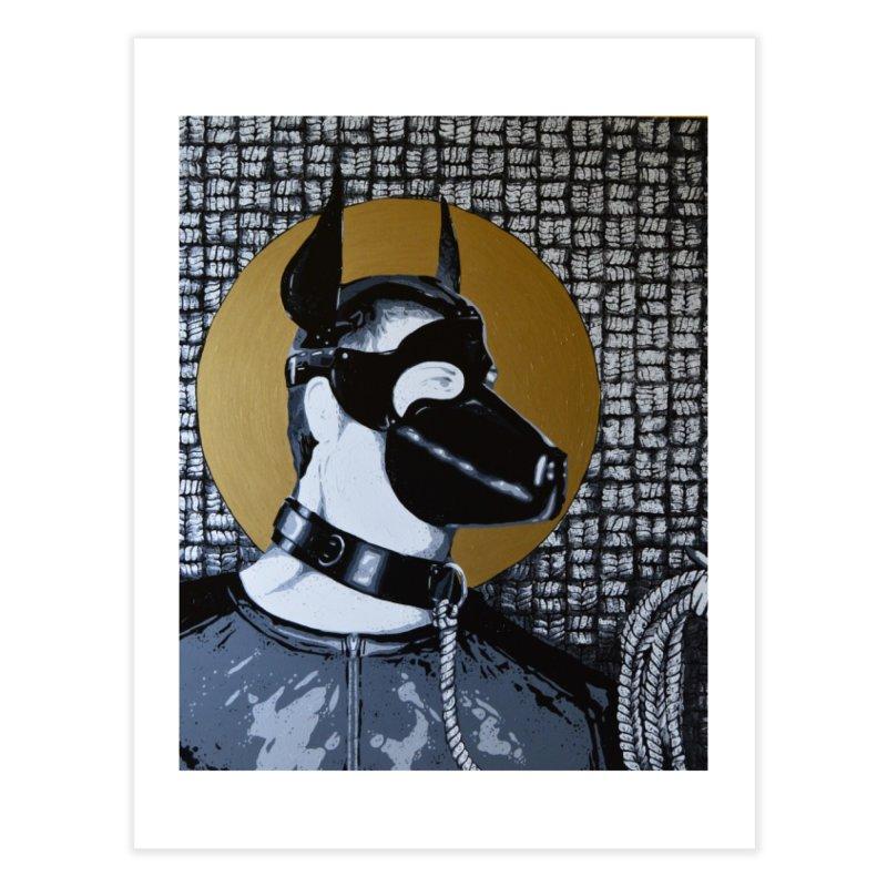 The Mask by Szymon K Home Fine Art Print by We Wear Art Light